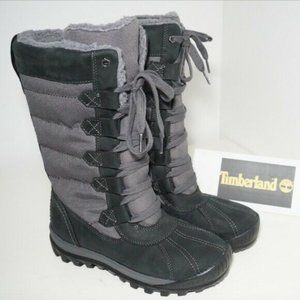 TIMBERLAND MOUNT Mt. Hayes Tall Waterproof Boots 7